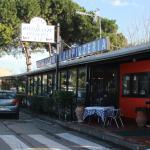 Vista esterna del ristorante