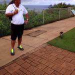 Domi  Showing us Kauai