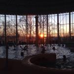 Sunset at Thermes
