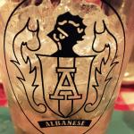 The Albanese family crest is another sign of the family pride.