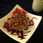 Deep fried ice-cream