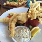 Fish & Chips, yum!