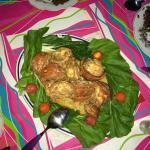 Christmas Day Dinner of 'Langostas' (Lobster)