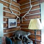 corner of Lodge sitting room
