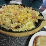 Mainly potatoes in Skillet...