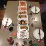 Sushi feast!!