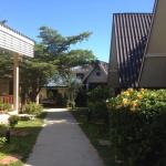 Rechts standard, links superior bungalows.