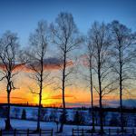 Picture postcard scenery
