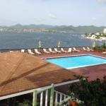 Bay and pool view