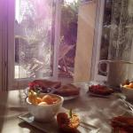 Breakfast with sunshine