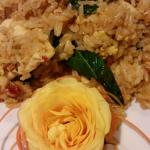 Basil Fried Rice, ask for the heat turned down if you need to.