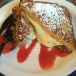 Brie stuffed French toast
