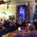 Acoustic music on Wednesday evenings at The Ark. Cosy log fire & good company