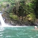 Uvita Waterfall and swimming hole