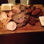 Meat platter for two