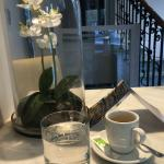 Petit espresso après petit déjeuner et juste avant de sortir