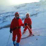 Christmas Day skiing