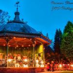 The bandstand set within Ward Jackson Park