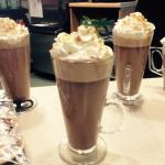 Caramel hot chocolates - Delicious!!