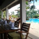 Restaurant in pool area
