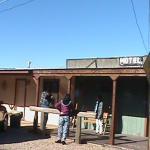 outside of rustic Inn