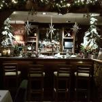 tastefully  decorated bar