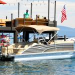 Check out our Lake Tahoe pontoon boat rentals!