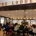 The Lodge Dining area at Terrace Cafe (cafeteria style)