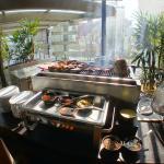 Sunday brunch buffet: BBQ