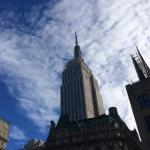 Empire State Bldg floating into the sky