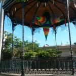 Kiosko en Plaza Machado