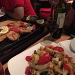 River fish Tasting plate