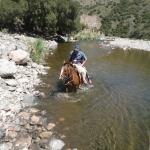 cabalgata con Ramon