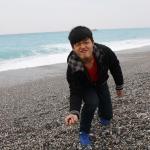 七星潭石滩