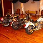 Bikes in the ballroom
