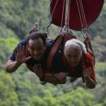 85 year old breaks record for oldest rider on the Seven Falls Zipline!