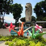 Sentosa Merlion Nex to Origami