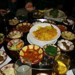 Essen für Sieben