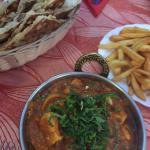 Garlic chilli masala