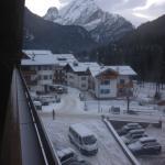 Panorama visibile dalla stanza 347