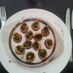 Les fameux escargots! !!