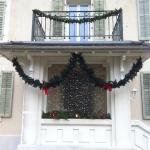 Une belle maison à Noël