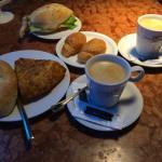 Pincho y café
