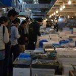 Tsukiji inner market.