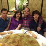 Our family photo at MayFlower Dusit Thani Bangkok