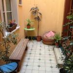 Cute B&B courtyard