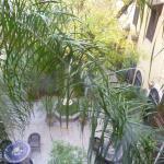 riad courtyard