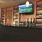 In the lower level is the GA Room featuring tasting of GA Wine