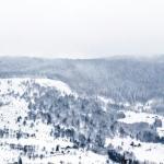 La vue de la Bouloie pendant l'hiver