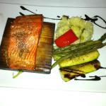 Planked Cedar Salmon